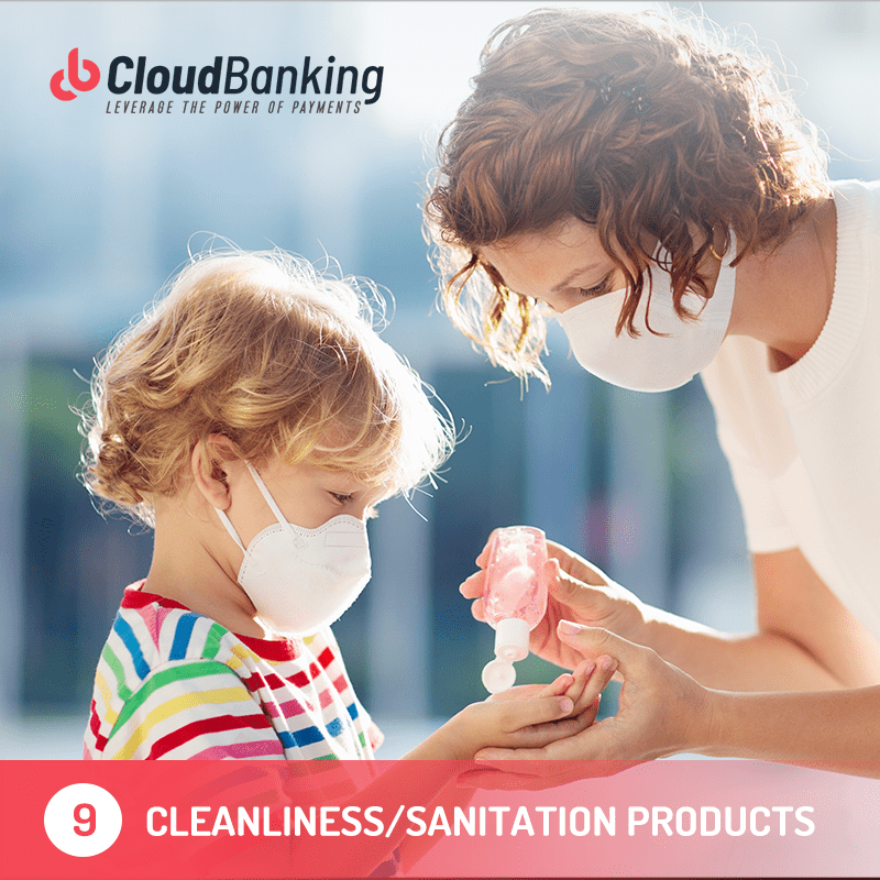 cleanliness and sanitation products